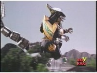 Dragonzord walks into the wilderness side tracking resumes as he